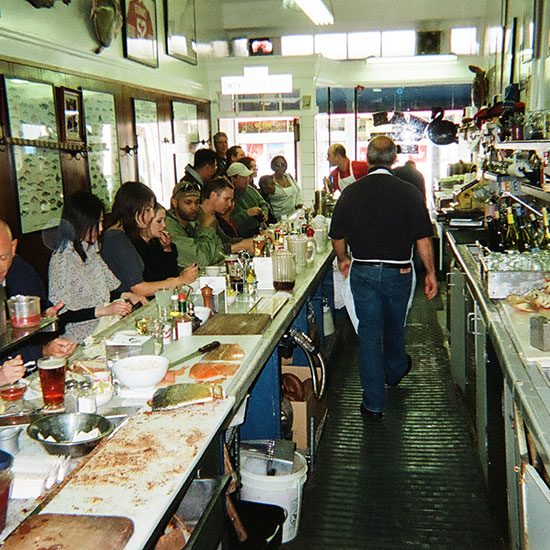 America's Best Oyster Bars: Swan Oyster Depot; San Francisco