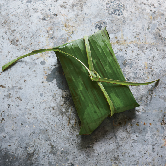 Banana Leaf Wraps: How-To