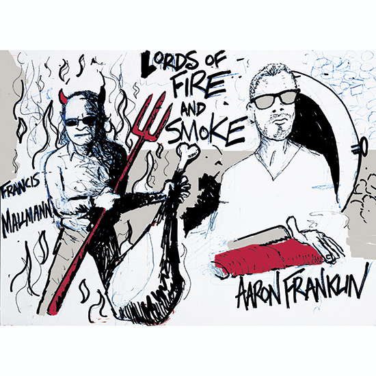 Anthony Bourdain Illustrates Grilling Icons: Live-Fire Heroism