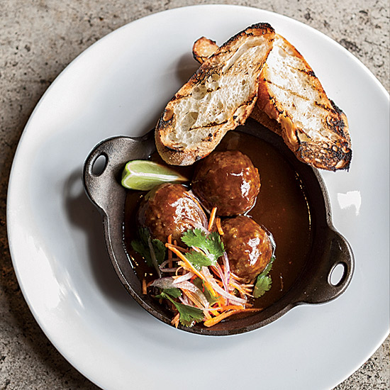 Houston in 10 Plates: Vietnamese Wagyu Meatballs at Underbelly