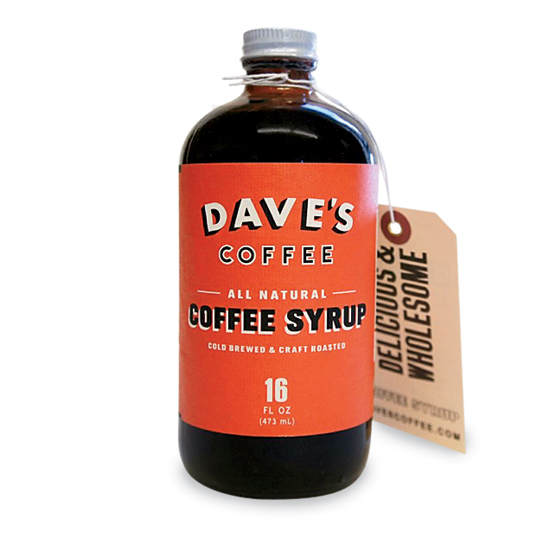 Pantry Upgrades: Dave's Coffee Syrup