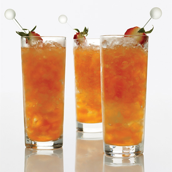 Strawberry-Lemon Mojitos