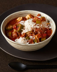 Chicken and Smoked-Sausage Gumbo