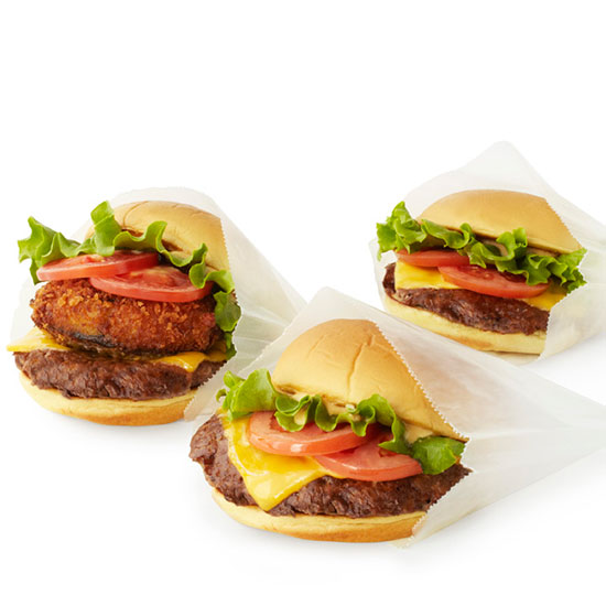 Crazy Over-the-Top Burger Topping: Shack Stack