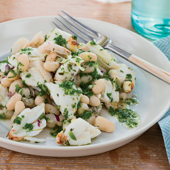 Fast Mario Batali Recipe: Crab Salad with Mint Oil