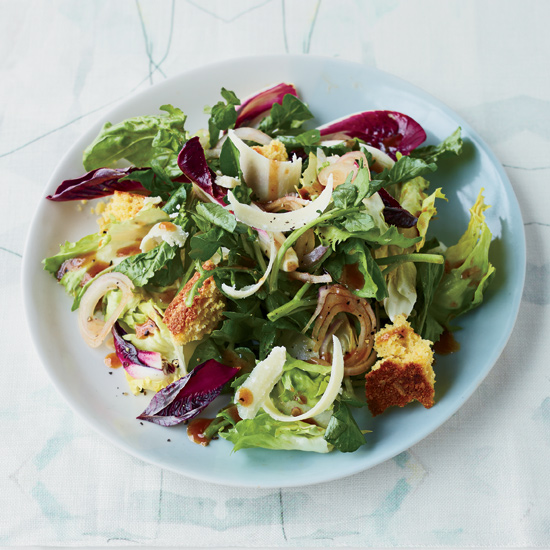 Green Salad with Smoky Barbecue Vinaigrette
