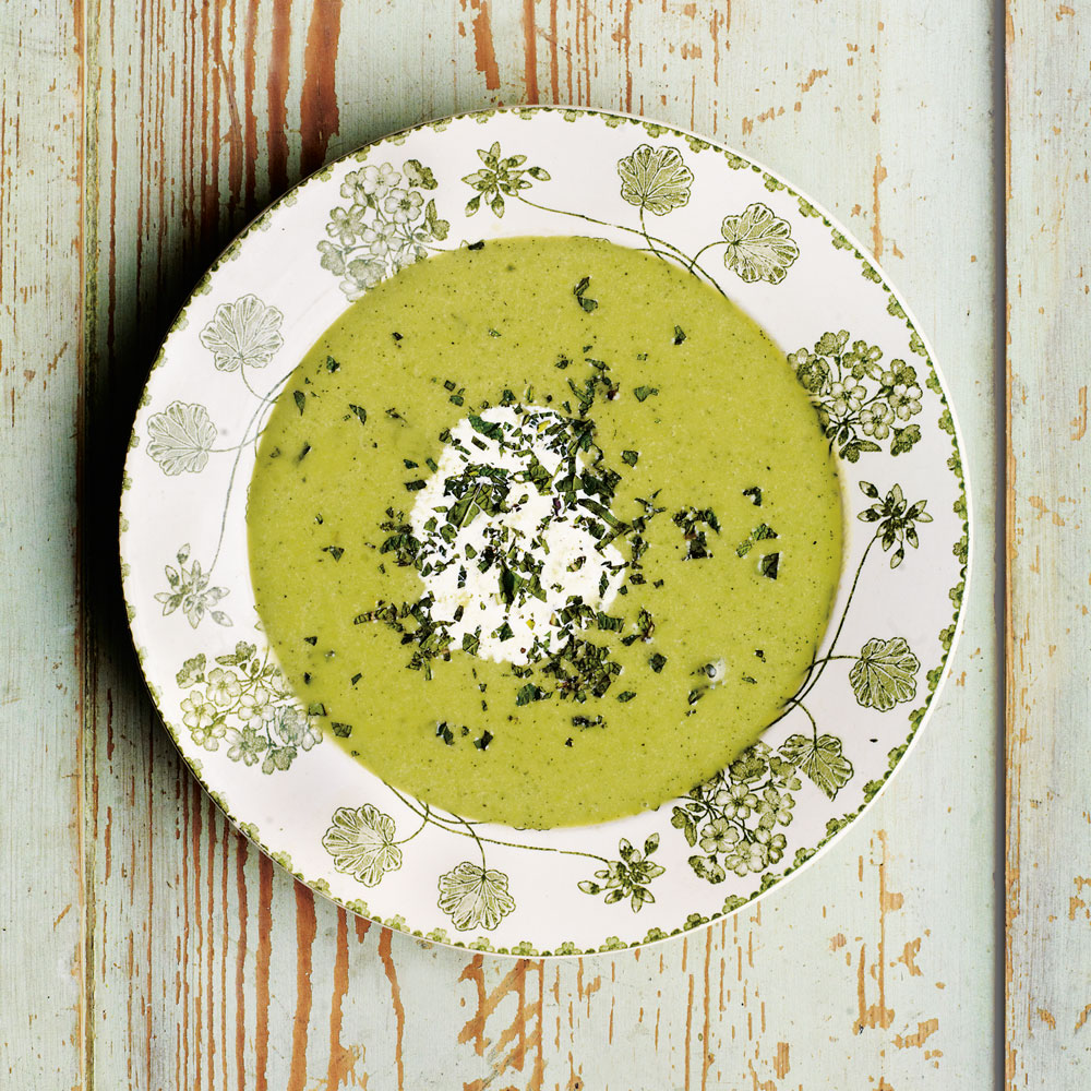 Mint and Pea Soup