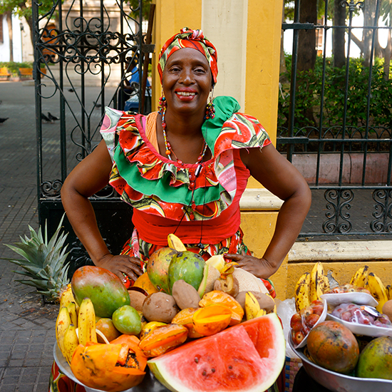 Cartagena in 10 Plates: Tropical Fruits from Las Palenqueras