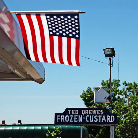 Summer Restaurants: Ted Drewes, St. Louis