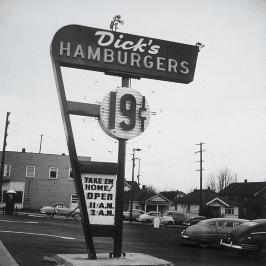 Best Burgers: Dick's Drive-In, Seattle