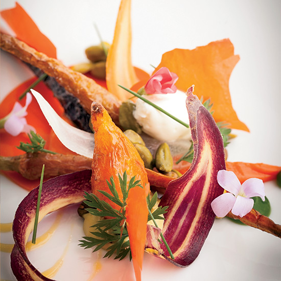 Chicago in 10 Plates: Carrot with Iranian Pistachio