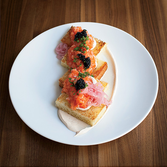Chicago in 10 Plates: Salmon Tartare at Trenchermen