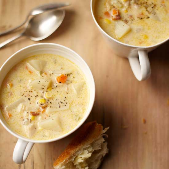 Fall River Clam Chowder