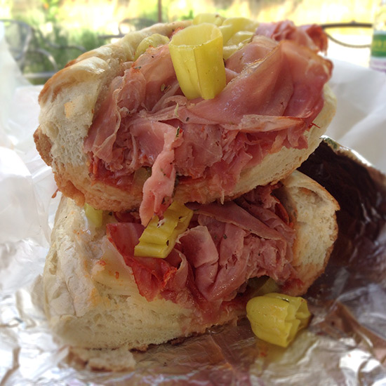 Rhode Island in 10 Plates: The Sandwich Hut; Providence