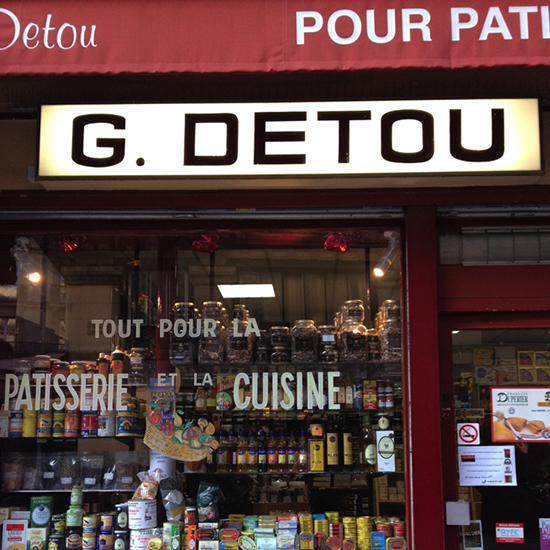 Paris and Provence: G. Detou