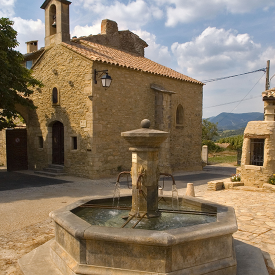 Paris and Provence: La Fontaine de Faucon