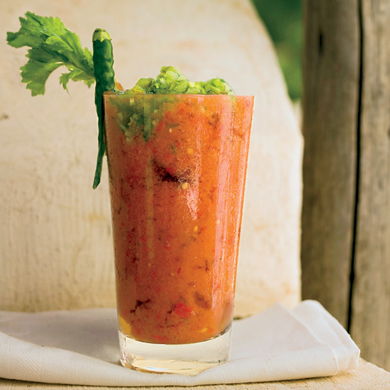 Day 14: Fresh Tomato Bloody Marys