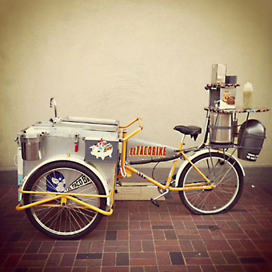 Bike Food Carts: El TacoBike