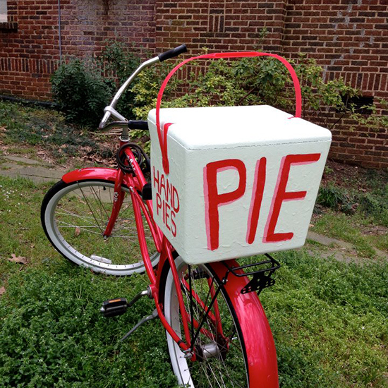 Bike Food Carts: Little Rock Pie Cycle