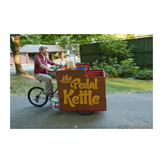 Bike Food Carts: Pedal Kettle