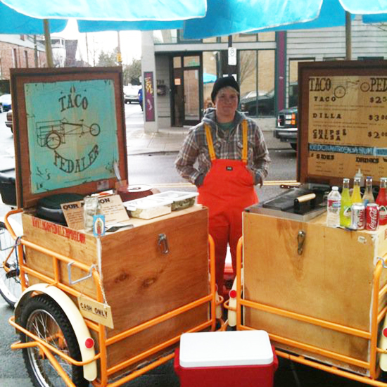 Bike Food Carts: Taco Pedaler