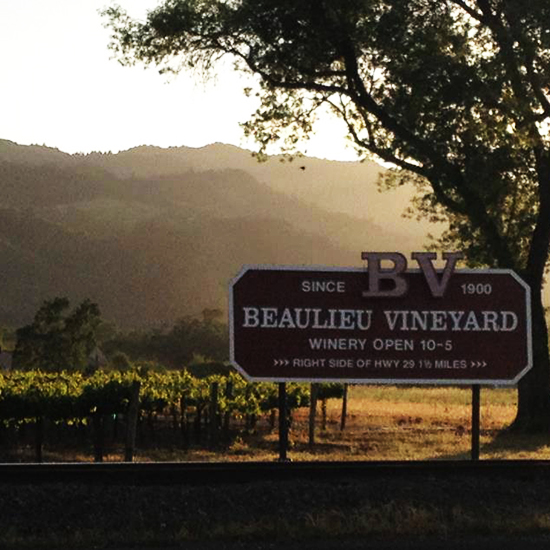 Napa Wineries: Beaulieu Vineyard