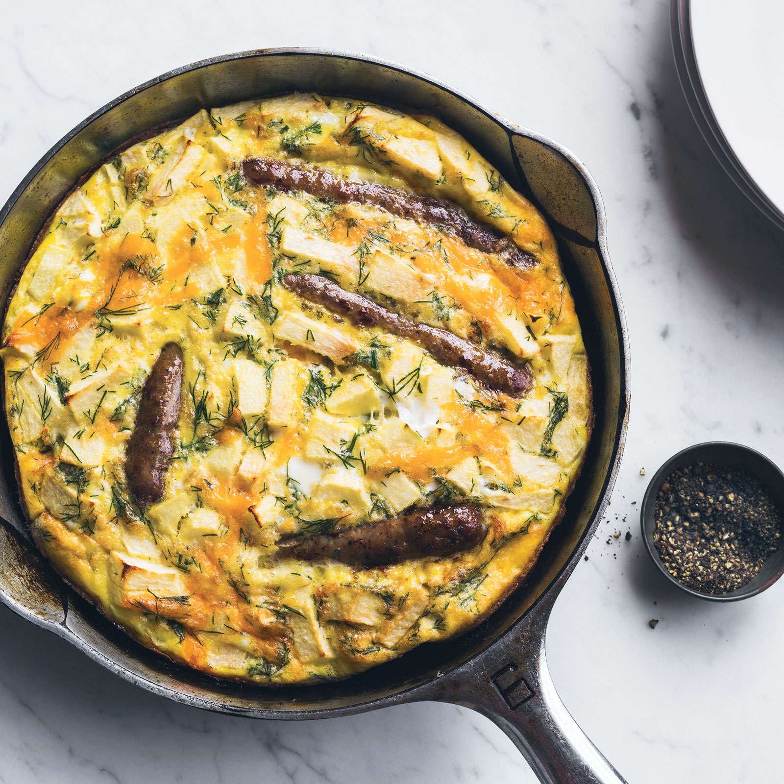 Sausage-Apple Frittata