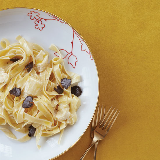 Pasta with Robiola and Truffles