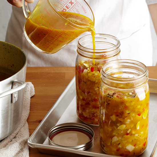 How to Make Pickles: Transfer into Jars