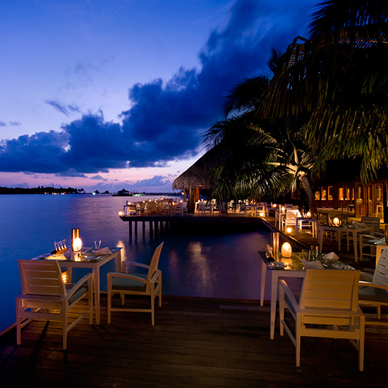 Spa Resorts for Food Lovers: Conrad Maldives; Rangali Island