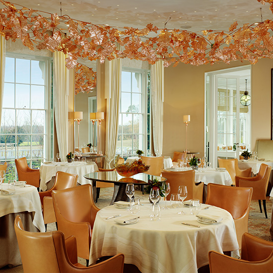 Spa Resorts for Food Lovers: Coworth Park Ascot; England