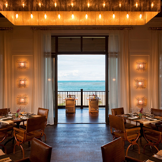 Spa Resorts for Food Lovers: St. Regis Bahia Beach Resort; Puerto Rico