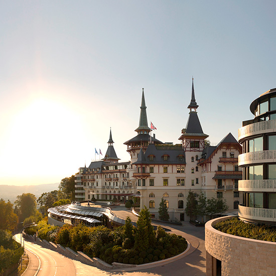 Spa Resorts for Food Lovers: The Dolder Grand, Zurich
