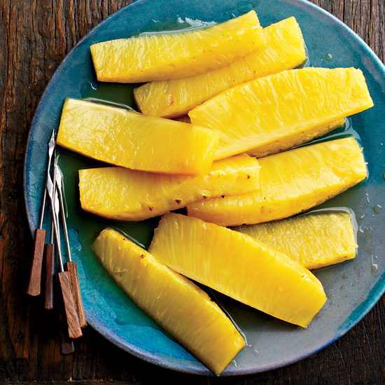 Honey-Roasted Pineapple