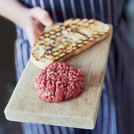 Hand-Chopped Spiced Beef Tartare