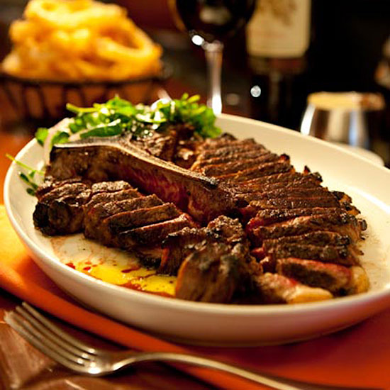 Best Steak House: Porter House New York; New York City