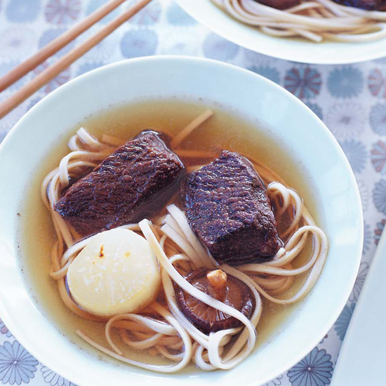 Five-Spice Short Ribs with Udon Noodles