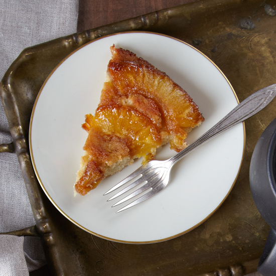 Fresh Pineapple Upside-Down Cake