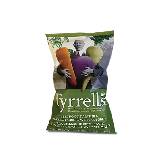 Chips: Tyrrells Hand Cooked English Crisps