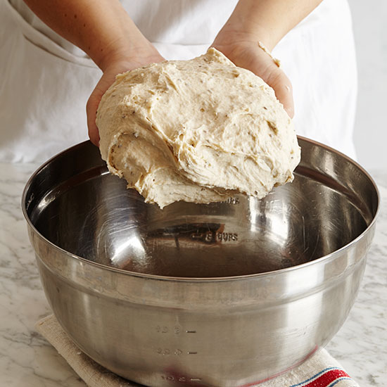 How to Make Challah: Let dough rise
