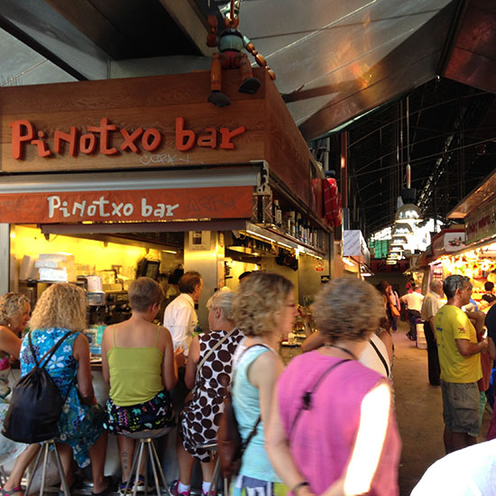 Spain Dream Trip: Pinotxo at La Boqueria; Barcelona