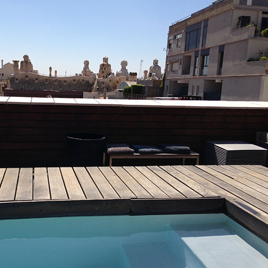 Spain Dream Trip: Omm Hotel Rooftop; Barcelona