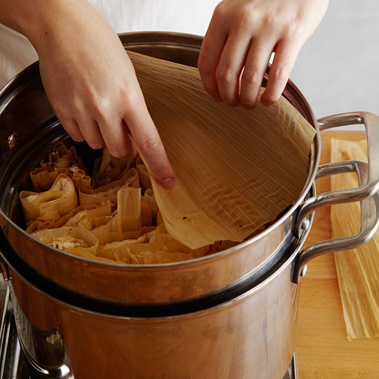 How to Make Tamales: Steam