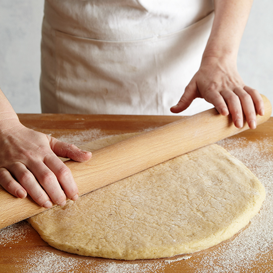 How to Make Doughnuts: Roll Out Dough