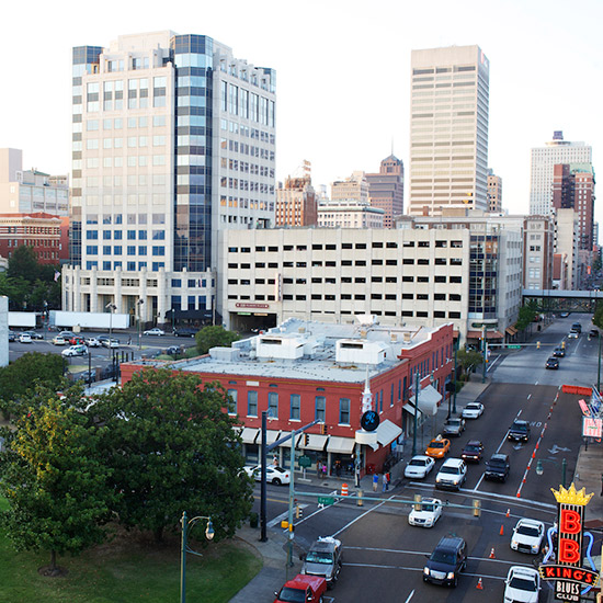 Memphis Photo Tour: Cityscape