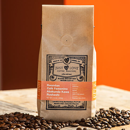 Fair Trade Products: Just Love Rwandan Café Femenino Coffee