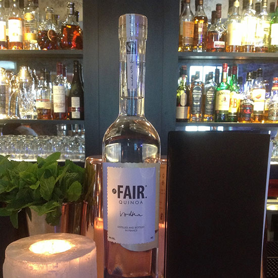 Fair Trade Products: Fair Quinoa Vodka