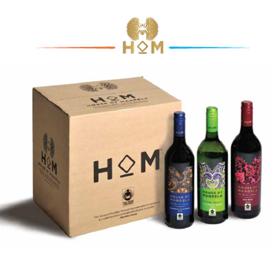 Fair Trade Products: House of Mandela Thembu Collection Wines