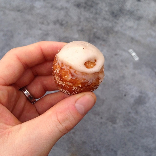 New York City Wine and Food Festival: Cronut Hole