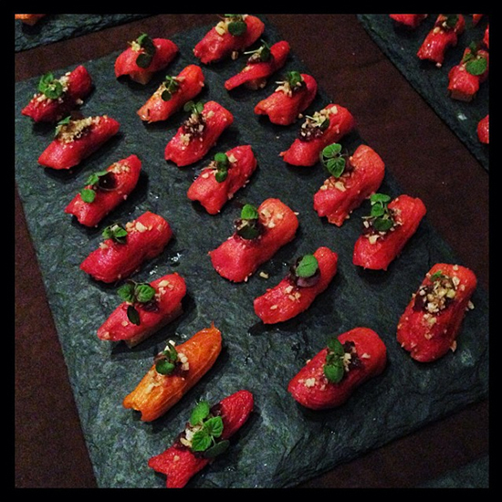 New York City Wine and Food Festival: Mike Anthony's Smoked Tomato